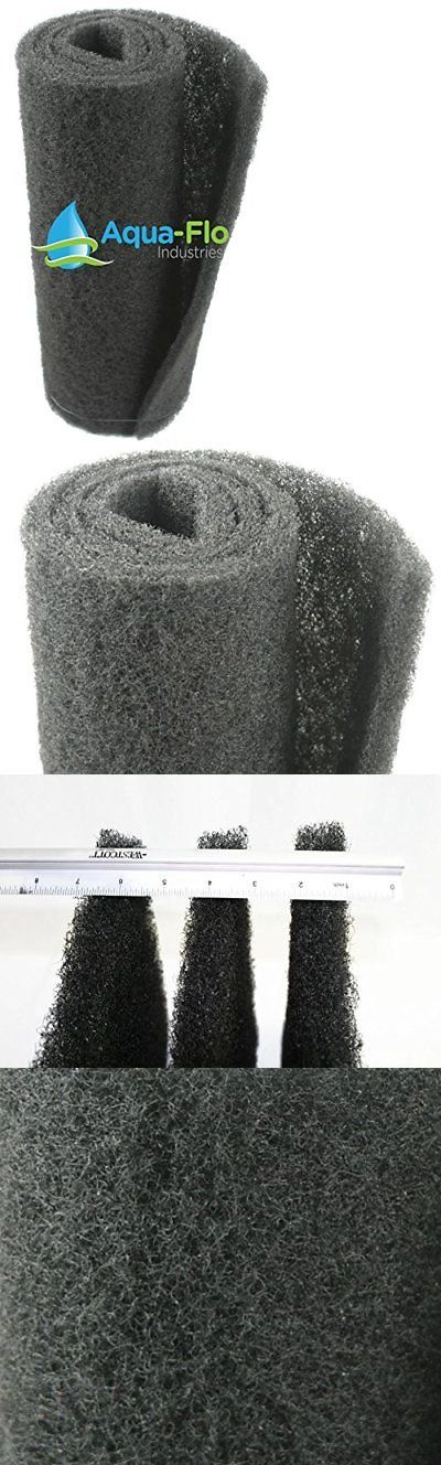 Pond Filter Media and Accs 85757: 20 X 56 X 1.25 Aqua-Flo Coarse Black Universal Pond Filter Mat -> BUY IT NOW ONLY: $75.38 on eBay!