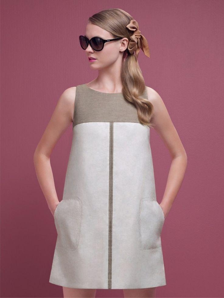платье Твигги