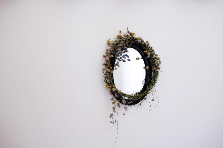 Mirror Dressed in Flowers