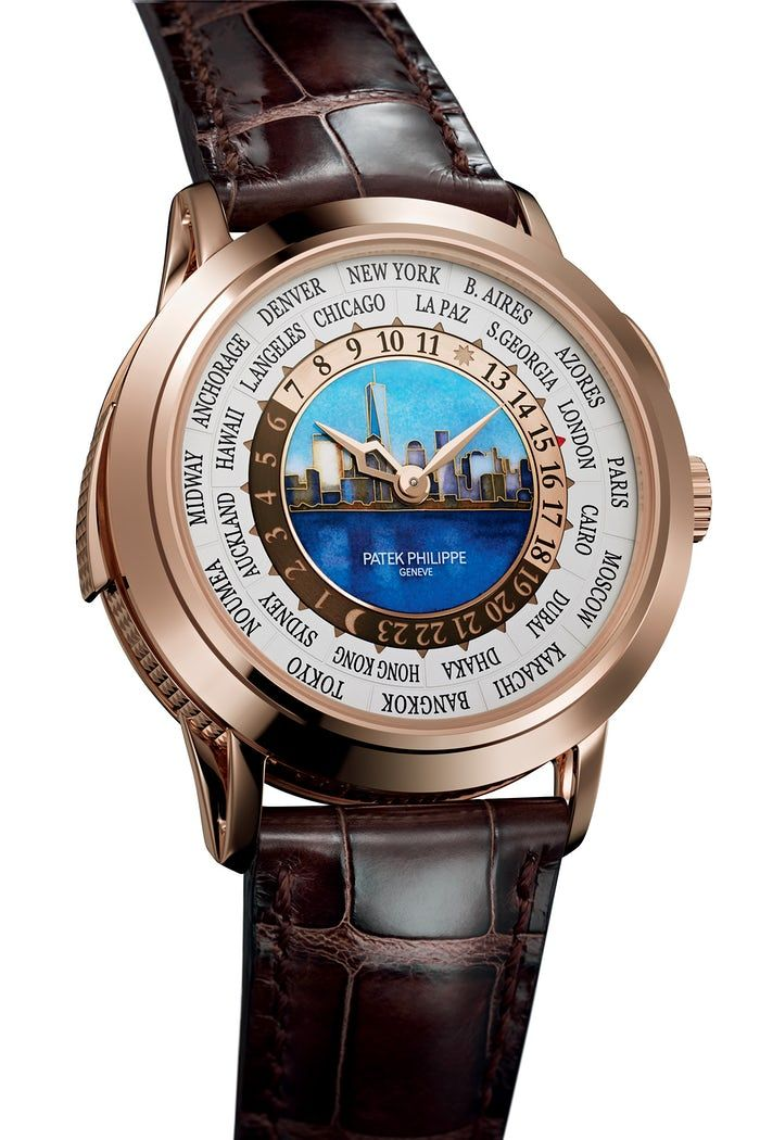 Introducing The Patek Philippe Reference 5531R World Time Minute Repeater New York 2017 Special Edition, Chiming The Selected Local Time (A World First)