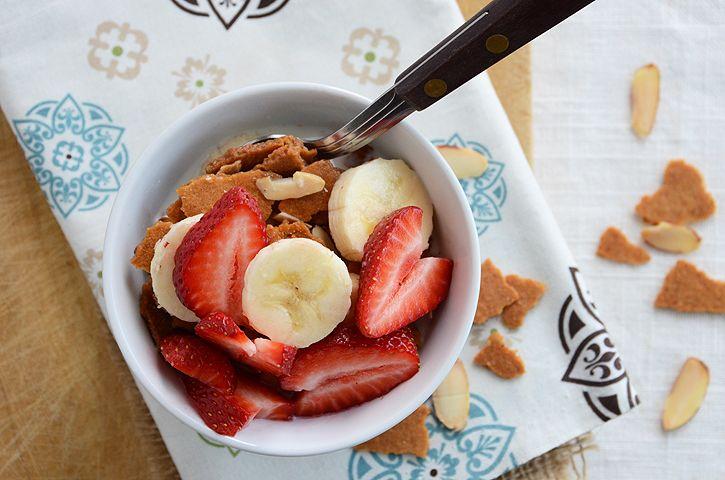 Homemade Hearty Almond-Vanilla Cereal :9   food & drinks   Pinterest