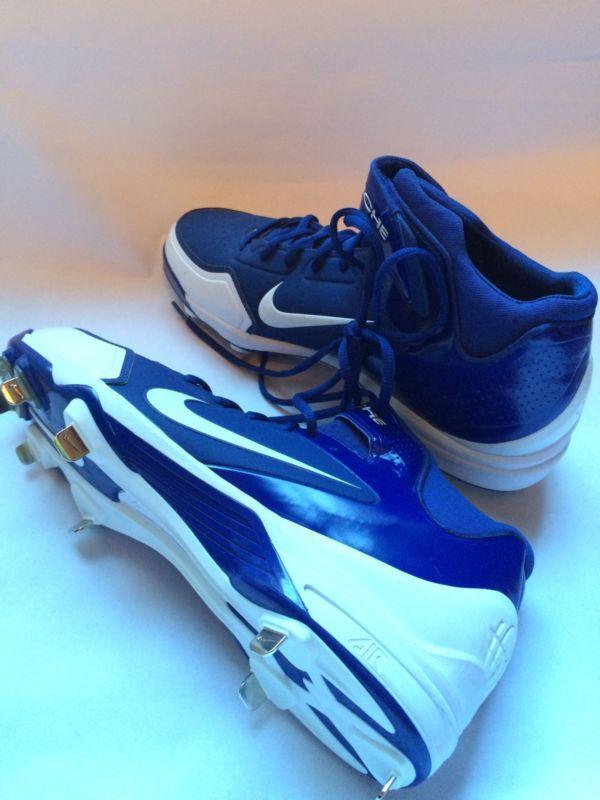 Nike Air Huarache 2K Fresh Metal béisbol Softbol las calas 467796-411 Talla 12