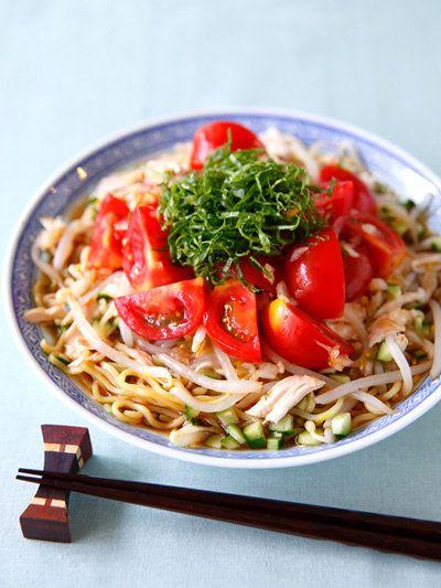 【ELLE a table】トマトの冷やし中華レシピ エル・オンライン