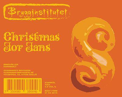Christmas For Fans / 2014 års julöl