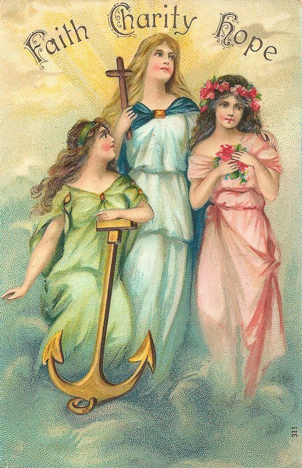 Вера надежда любовь старинные открытки, поздравления мартом