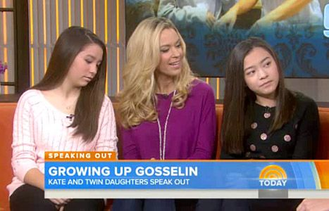 Kate Gosselin scolded her 13-year-old twins, Mady and Cara, to