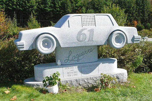 An unusual headstone at Hope Cemetary in Barre, VT. - Roger S. Hart, via Flickr