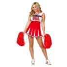 Women's Cheerleader USA Costume