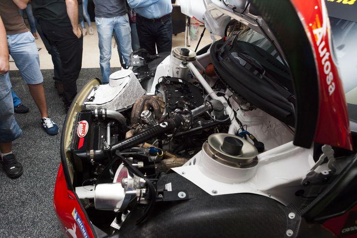 La mecánica llevada al límite en el MINI JWC  World Rally Car del Campeonato de España