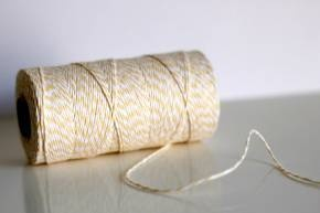 Yellow twine240 Yards, Buttercream Lights, Buttercream Bakers, Gift Wrapping, Gift Wraps, Buttercream Twine, Lights Yellow, Twine 240, Bakers Twine