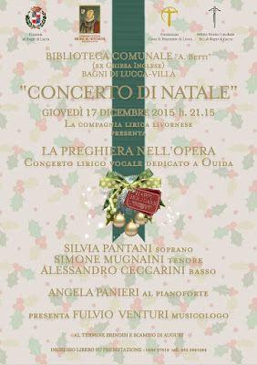 CAPITAN FUTURO: LUCCA: Un Concerto di Natale da non perdere. da Fr...
