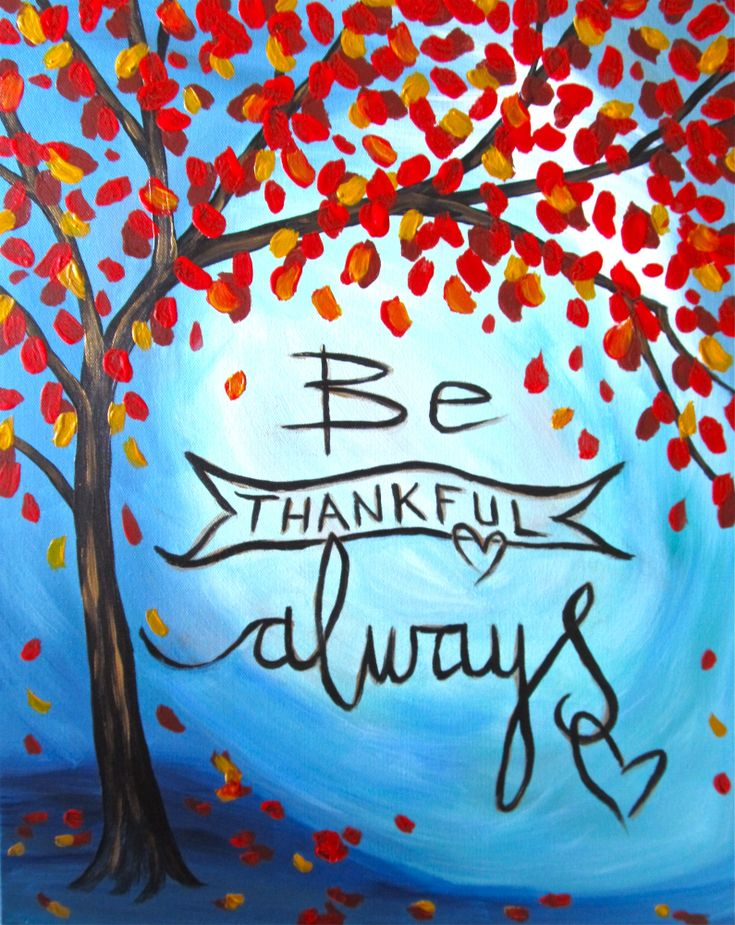 I am going to paint Thankful at Pinot's Palette - Chesterfield to discover my inner artist!
