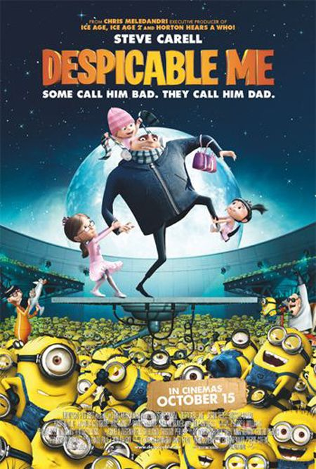 Despicable Me.  So much respect for Pixar on this one.