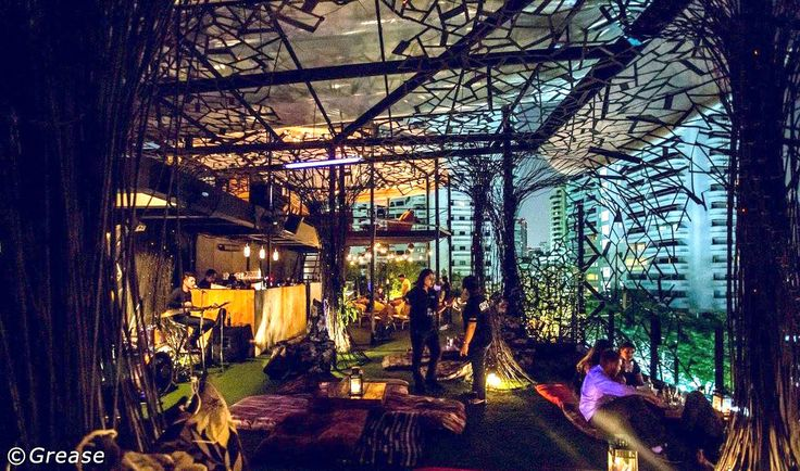 11 Alternative Rooftop Bars in Bangkok - The City's Best Secret Rooftop Bars