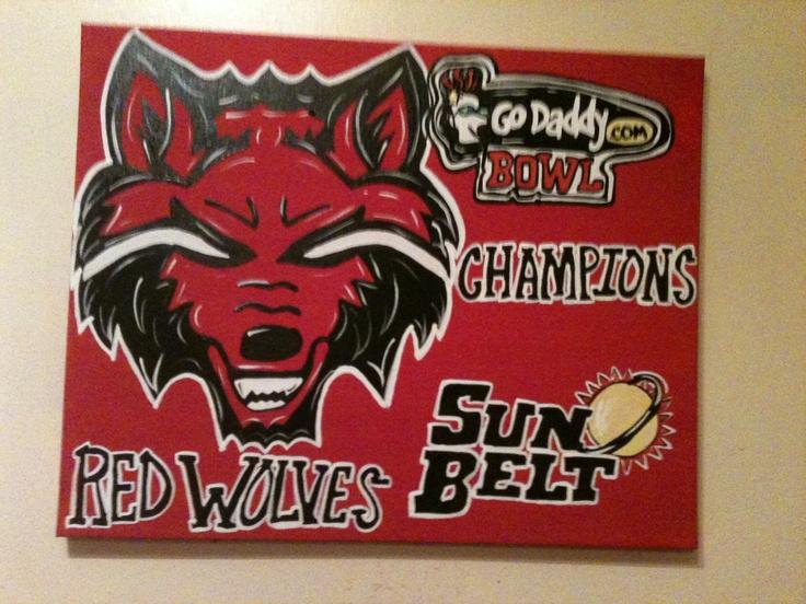 22 Best Arkansas State Redwolves Images On Pinterest