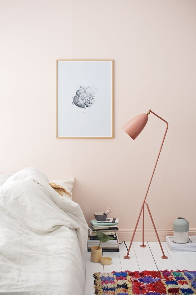 Interior Trend: Soft Pink Walls