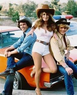 Dukes of Hazard - them Daisy Duke shorts...