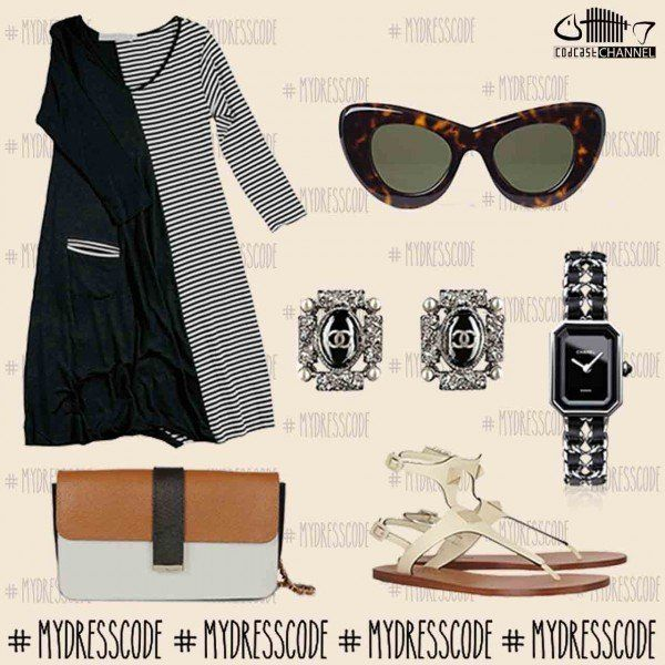 Dress MIDALI - sunglasses CELINE - Jewelry CHANEL - Shoes VALENTINO - Bag DSQUARED2 #womenswear #newcollections #springsummer2014 #ss14 #outfit #fashion #style #trends #outfitideas #outfitoftheday #dsquared2 #valentino #chanel #celine #celineparis #midali #martinomidali