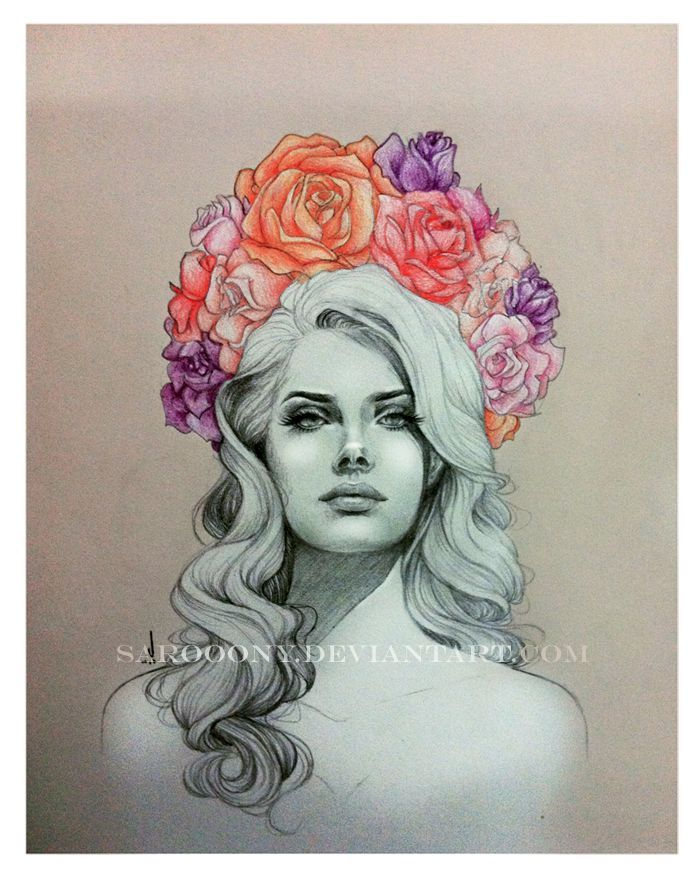 *0* Lana Del Rey draw-The Queen of Saigon | oh, that's ...
