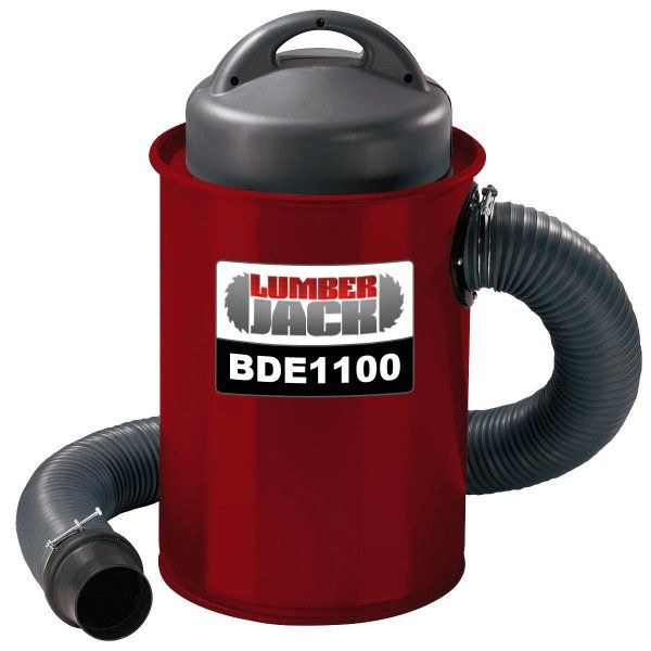 Lumberjack Tools BDE1100 - Powerful 1100W 50L Dust Extractor Woodworking - Dust Extractors -