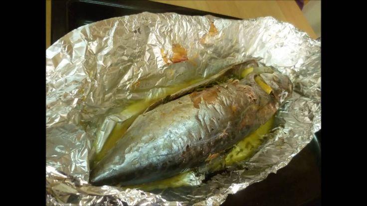 Рыба Тунец в духовке в фольге Tuna fish in the oven in the foil