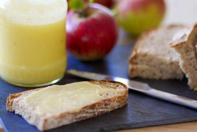 opskrift på blød og lækker applecurd / æblesmør