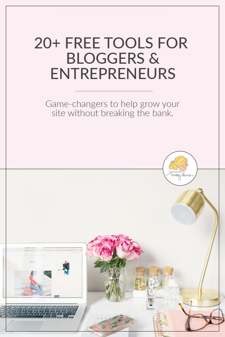 When you're learning how to blog, you want to organize your site's content and make everything look pretty without breaking the bank, right? This comprehensive list of 20+ of the best blogging resources for beginners will help you do just that while keeping your budget intact. Our #1 blogging resource is also included! #bloggingtips #toolsforbloggers #entrepreneurs #freeresources