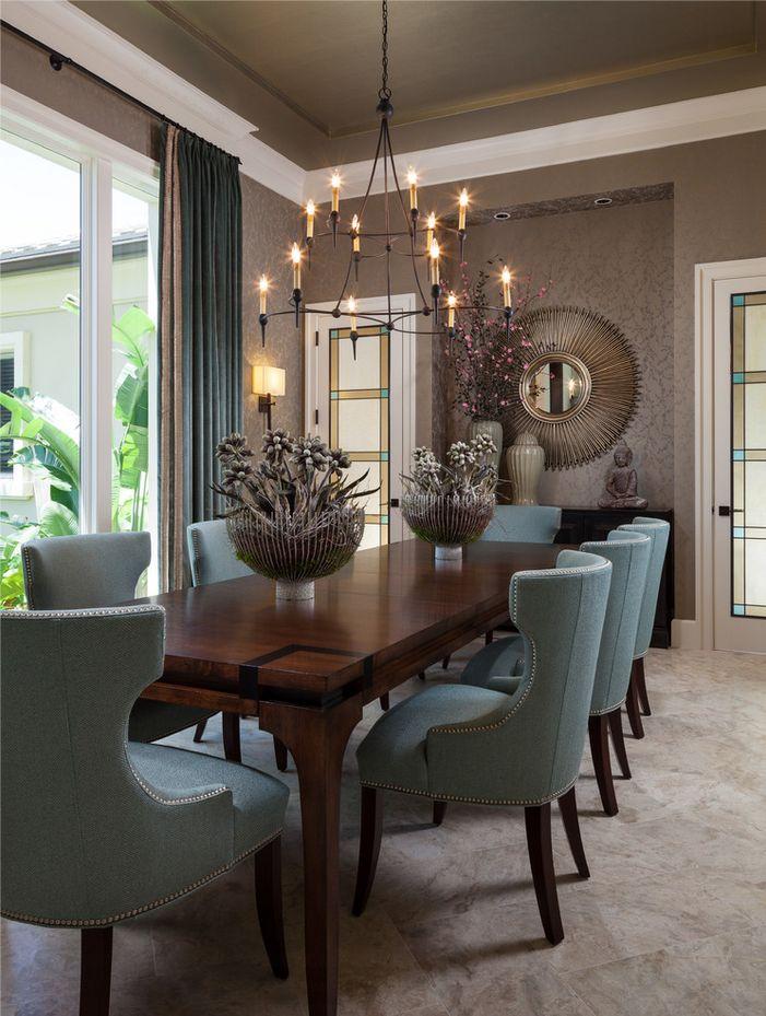Royalton Model - Old Palm Golf Club - transitional - Dining Room - Miami - Courchene Development Corp