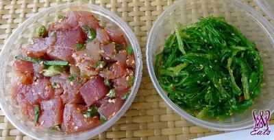 Kim chee ahi poke & seaweed salad @ koloa fish market: Chee Ahi, Seaweed Salad, Food Events, Favorite Things Food, Seaw Salad, Fish Marketing, Kim Chee, Ahi Poke, Koloa Fish