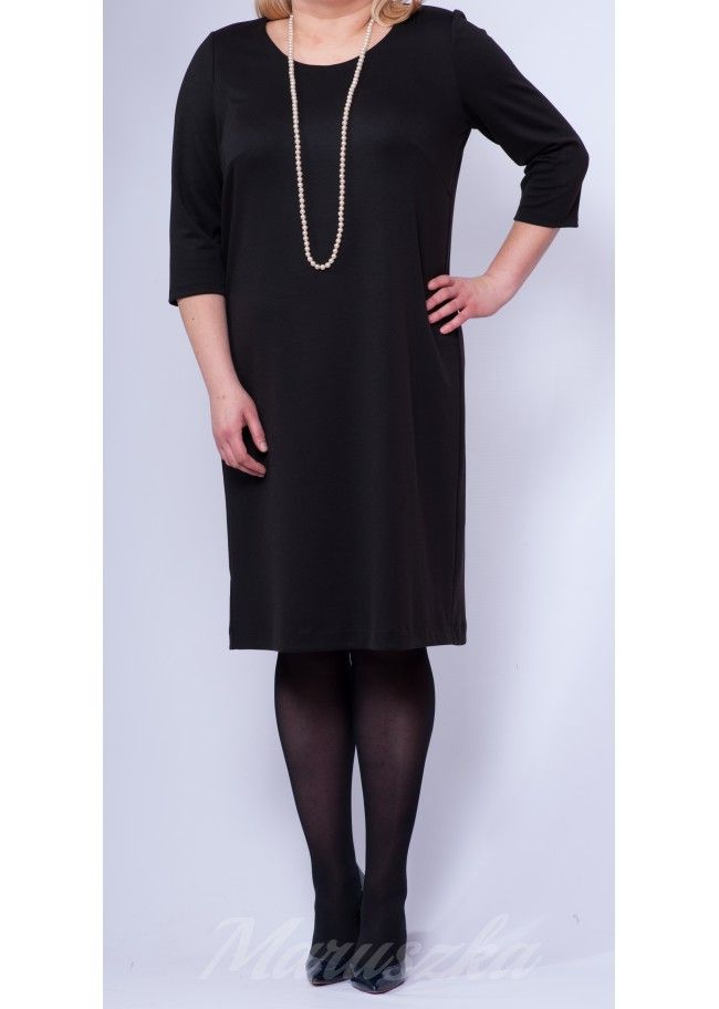 Dress RITA BLACK - Plus Size, 40$/EUR + shipping cost