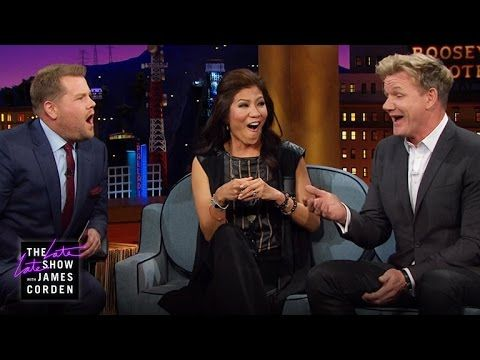 Hell's Cafeteria - Gordon Ramsay Grills Julie Chen & James - YouTube