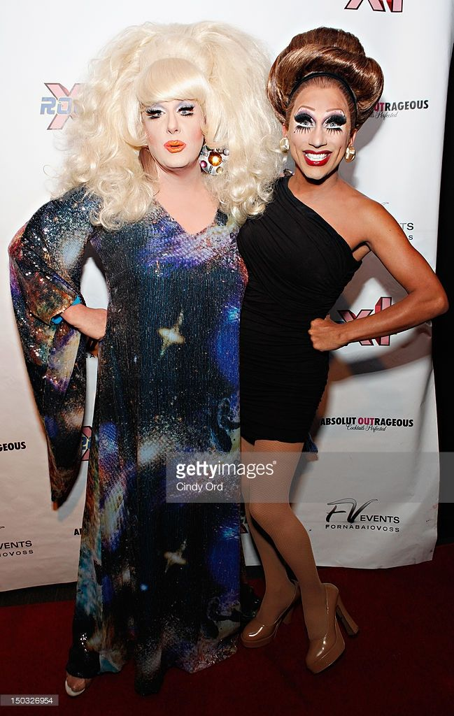 Performers Lady Bunny and Bianca Del Rio attend Lady Bunny's 50th Birthday Roast at XL Nightclub on August 15, 2012 in New York City.
