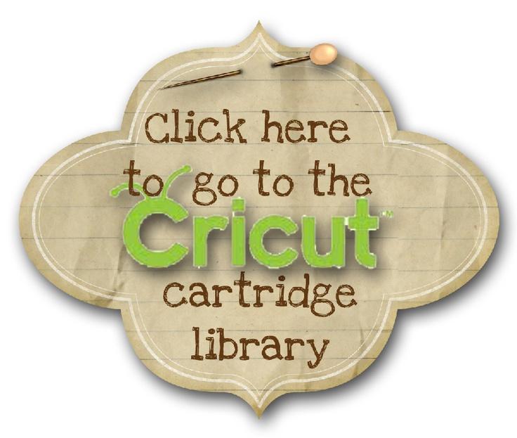 Cricut cartridge library
