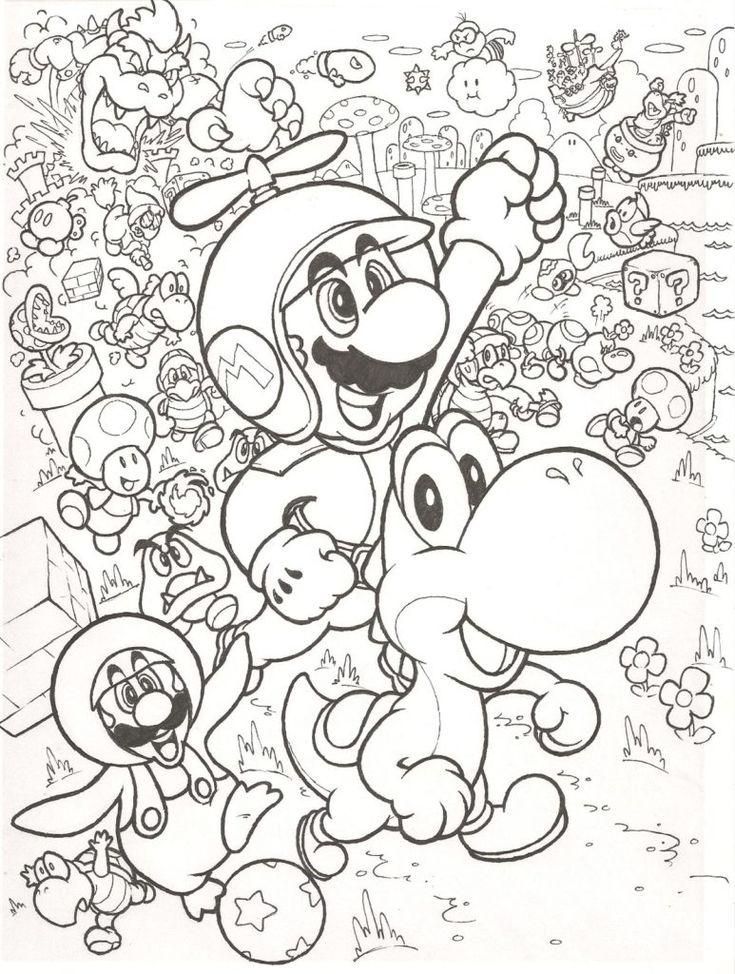 Coloring Rocks Pokemon Coloring Pages Super Mario Coloring Pages Mario Coloring Pages