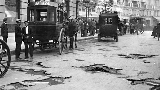 30 de enero de 2014: Madrid hace cien años, en imágenes inéditas.