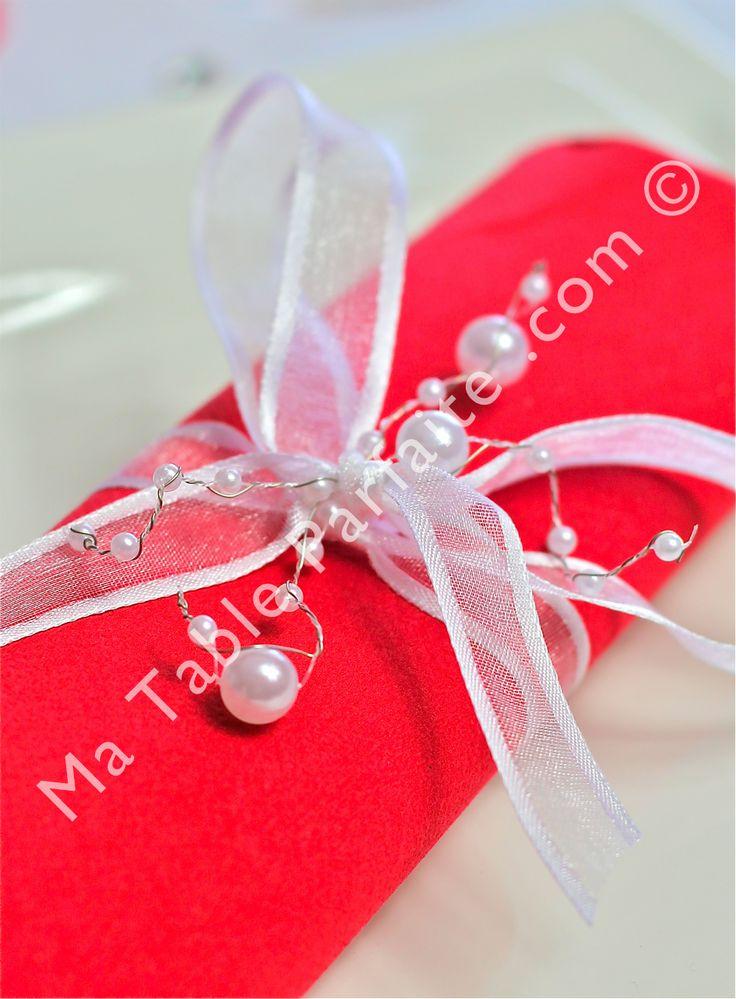 1000 images about d co de table rouge et blanc on pinterest - Table et passion ...