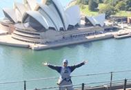 Oprah's climb to the top of the Sydney Harbour Bridge