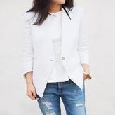 Ways to wear a white blazer.