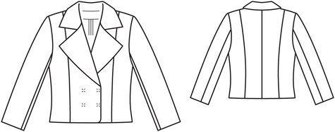 Burda style blazer