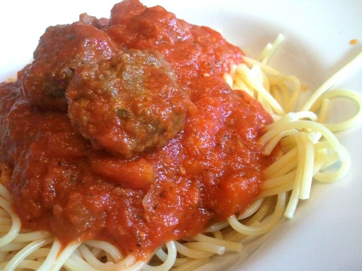 I pretty much love any kind of Italian food. And who doesn't love a good meatball? These meatballs are easy to make and best of all, you can freeze them! They are great on top of spaghetti or as a ...