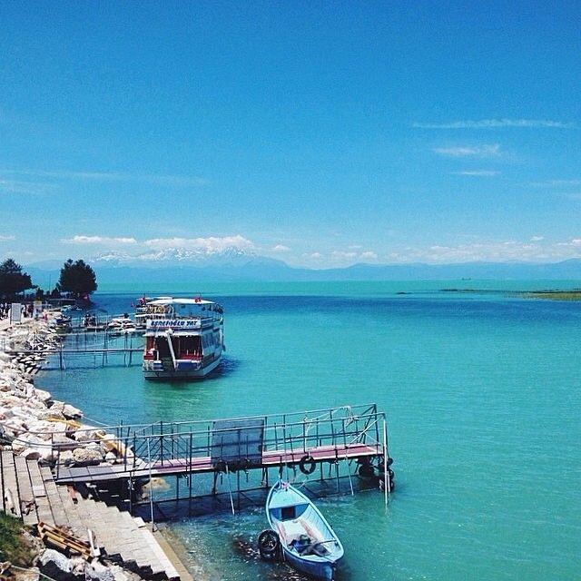 """Visiting Lake Beysehir was incredible! Look at that incredible water!!! Love this place"" photo by @Pauly Vella Lake Beyşehir/Konya #beysehirgolu #konya #turkey #comeseeturkey #turkiyeodalarveborsalarbirligi #theunionofchambersandcommodityexchangesofturkey #tobb #tccb #Padgram"
