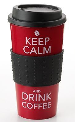 Keep Calm and Drink Coffee! Great stocking stuffer!