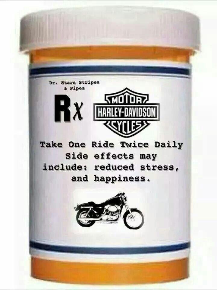 Why we ride.... Doctors orders!!