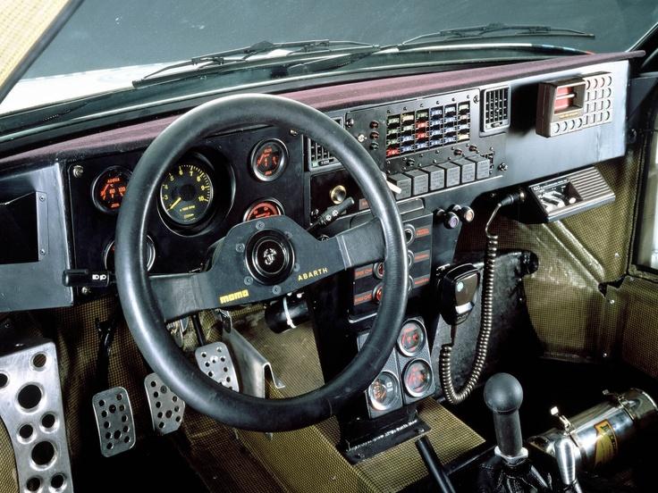 1985 Group B rally Lancia Delta S4 dashboard