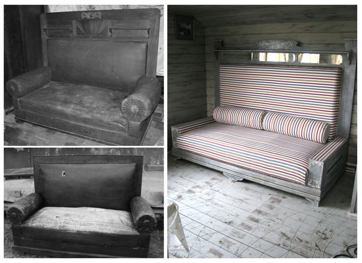 Сталинский диван. 1940 - ые .