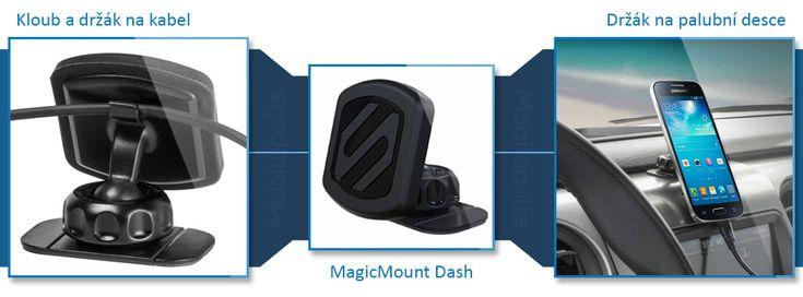 Držák MagicMount Dash a jeho výhody