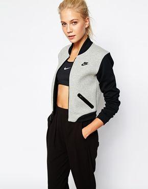 Nike Luxury Fleece Bomber Jacket Woooowww love it!