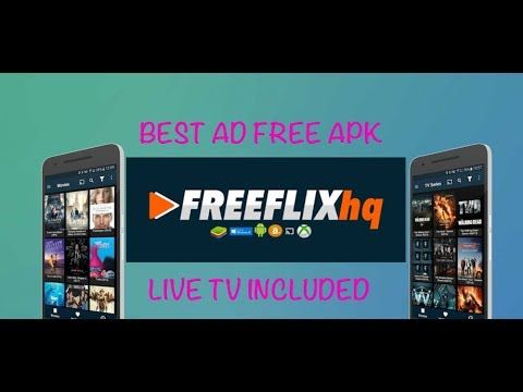 FREEFLIX HQ IPTV APK FOR ANDROID AD FREE UPDATED NOVEMBER