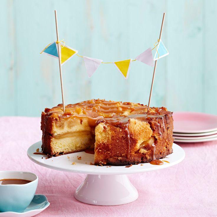 Découvrez la recette Gâteau aux pommes facile au fromage blanc sur cuisineactuelle.fr.