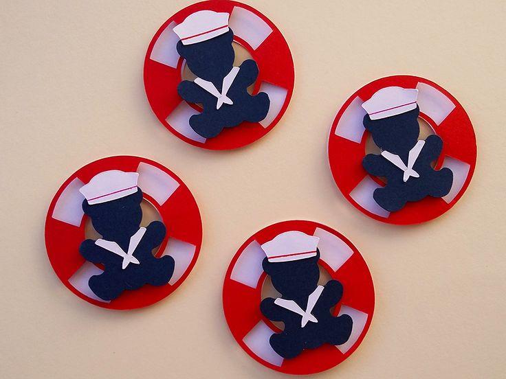 A sua festinha ursinho marinheiro ficará ainda mais linda com esta tag bóia. Ideal para aplicação em latinhas mint to be, garrafinhas, caixinhas, forminhas para cupcake, tubetes, etc.